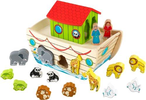 KidKraft Noah's Ark Shape Sorter - 1
