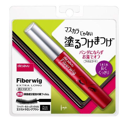 Dejavu / Fiber Wig Extra Long R / Eyelashes Mascara