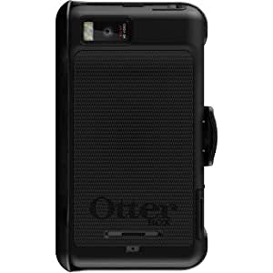 OtterBox Defender Series Hybrid Case and Holster for Motorola DROID X2 - Retail Packaging - Black