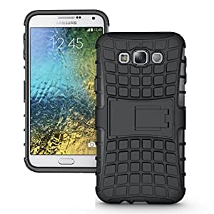 Bling Case Kick Stand Back Cover For Samsung Galaxy J7Prime-Black