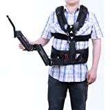 Movo Photo VMA300 Vest & Dual Articulating Arm for Handheld Video Stabilizer Systems