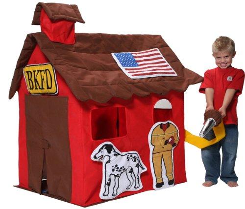 Bazoongi Kid'S Fire Station Cottage