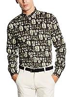 Dolce & Gabbana Camisa Hombre (Negro)