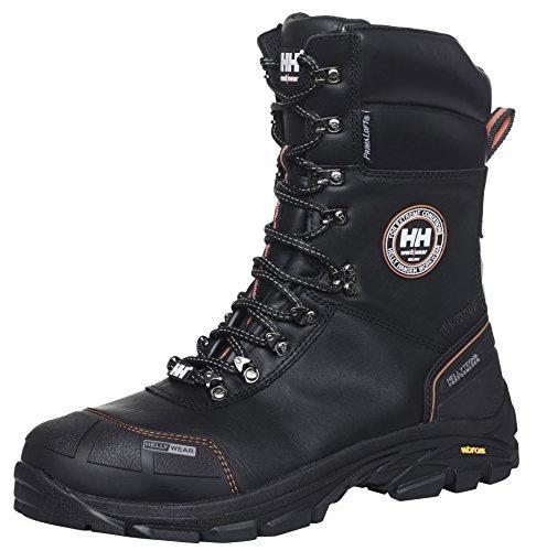 Helly Hansen 78301inverno stivali di sicurezza S3Chelsea Winter Boot HT imbottito, isolante stivali da lavoro, Nero, 78301