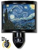 Decorative Night Light Van Gogh Starry Night Fine Art