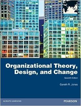 JONES THEORY AND PDF GARETH ORGANIZATION DESIGN CHANGE