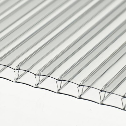 10 x Twinwall Polycarbonate Sheet 610 x 1830 x 4mm (2ft x 6ft) for Greenhouses