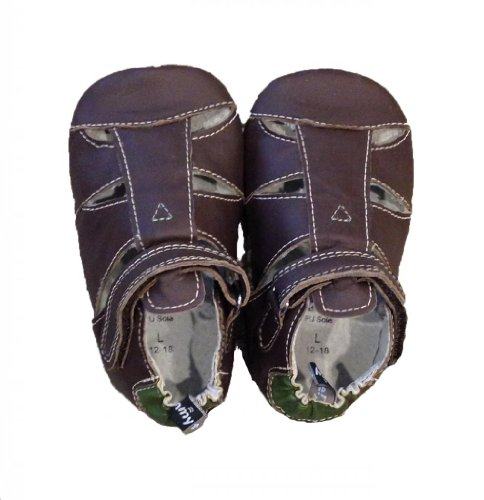 Tommy Tickle Cruzer-Sandal Chocolate/Green