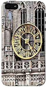 CimaCase Clock Tower Designer 3D Printed Case Cover For Apple iPhone 5S