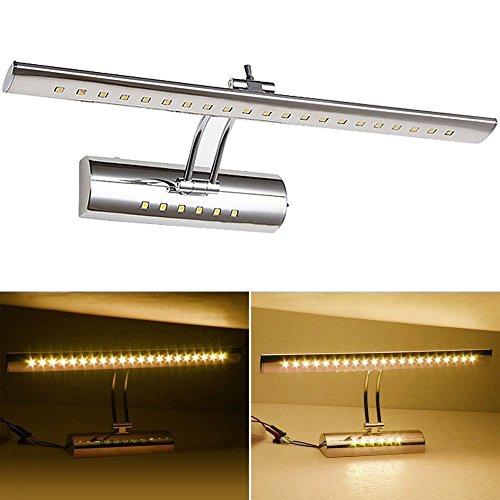 VINGO-7w-Spiegellampe-LED-mit-Schalter-Spiegelleuchten-frs-Bad-SMD5050-Edelstahl-Winkel-einstellbar-Warmwei
