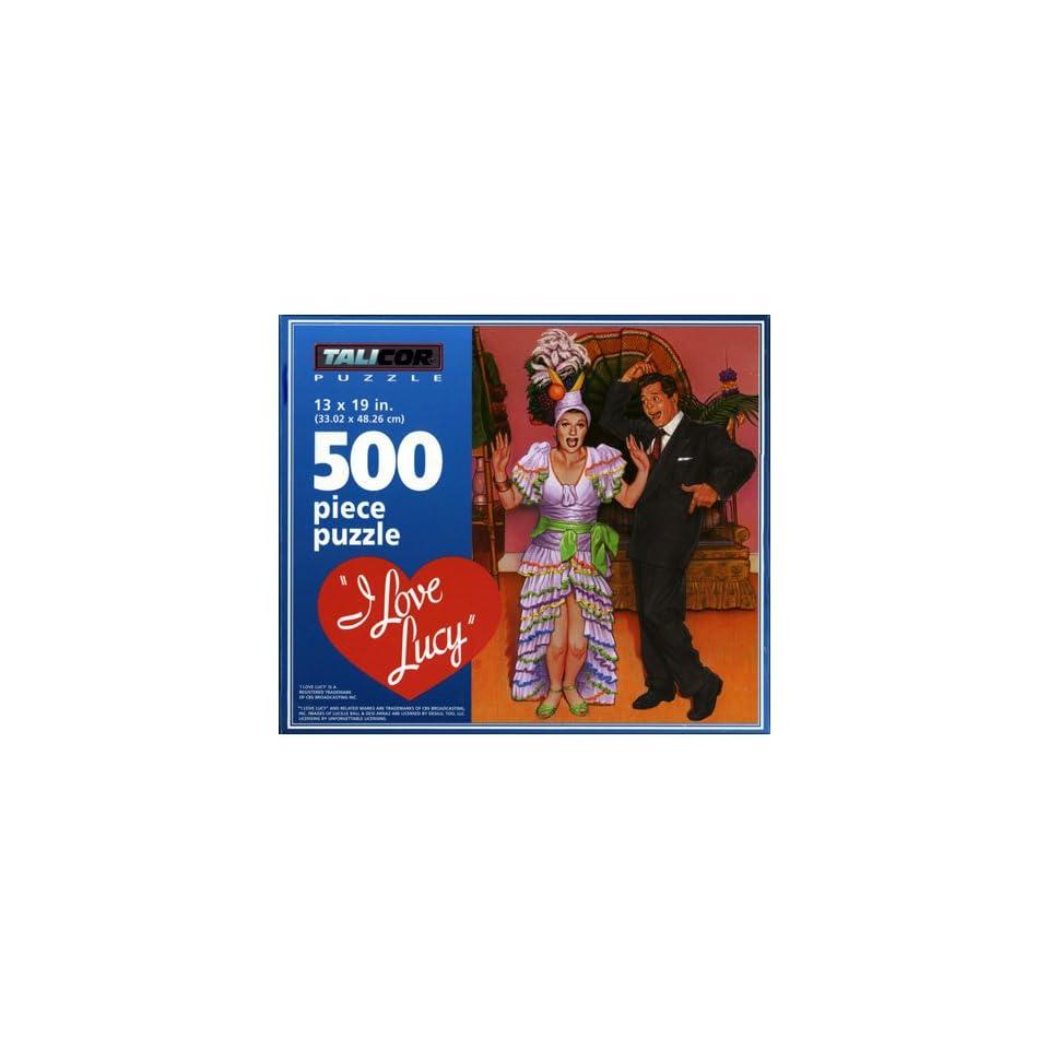 I Love Lucy Carmen Miranda 500Pc. Puzzle by TaliCor
