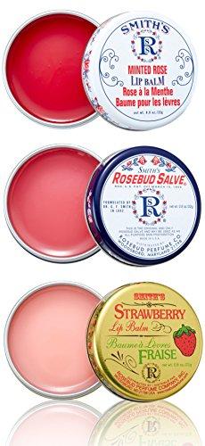 Rosebud Three Lavish Layers Lip Balm, 0.8 Ounce