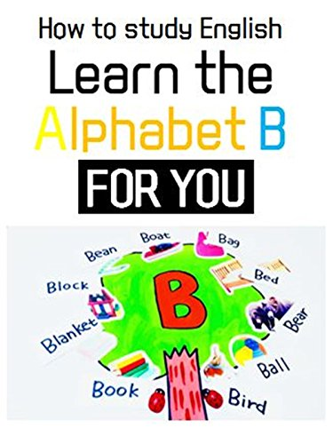 Learn B's words l How to study Alphabet about B with stickers !! l B TREE For Kids