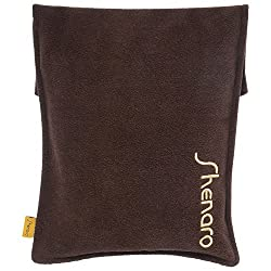 Shenaro Lifestyle's 100% Suede Cotton, Organic & Eco-Friendly Wheatty Bag with Treated Whole Grains. Effective Treatment for Pains & Aches. Microwave Friendly.