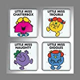 NEW! Mr Men Keyring Little Miss Naughty