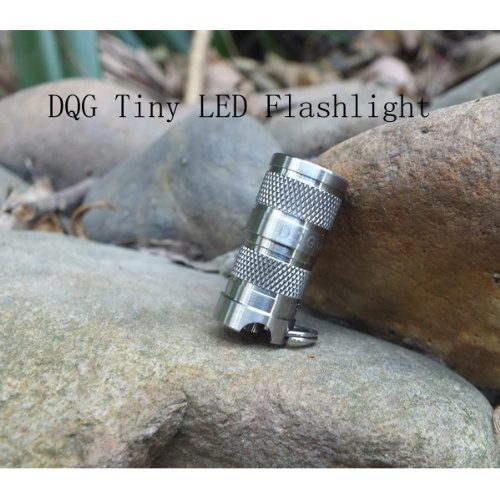 DQG SPY CREE XP-G2 R5 4C Neutral White Tiny Titanium LED Flashlight