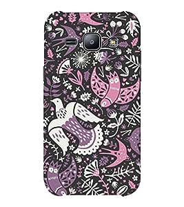 EPICCASE phoenix Mobile Back Case Cover For Samsung J1 Ace (Designer Case)