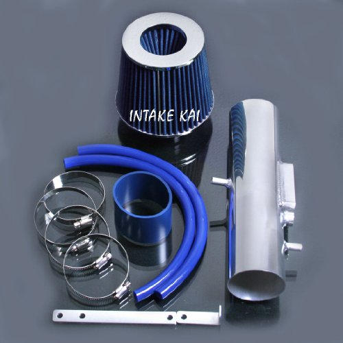 Blue 1997-2001 Toyota Camry Solara 3.0 3.0L V6 Air Intake Kit Systems (Camry V6 Intake compare prices)