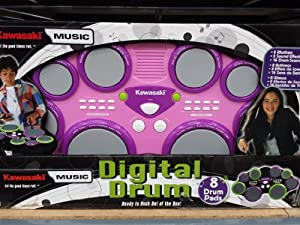 Kawasaki portable digital drum pad