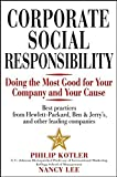 img - for Corporate Social Responsibility: Doing the Most Good for Your Company and Your Cause book / textbook / text book