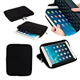 Neotechs® Black Neoprene Pouch Sleeve Carry Case Cover Stand for Amazon Kindle 7