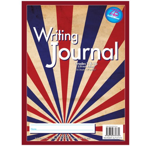 Essential Learning Products Zaner-Bloser Writing Journal Grade 4 and Up, Stripes (677473)