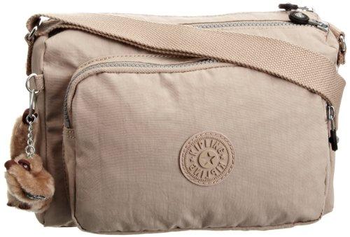 Kipling Womens Reth Shoulder Bag Caffe Latte K12969