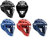 Rawlings CFA1JP Adult Hockey Style CoolFlo Catchers Helmet with Contour Jaw Pad