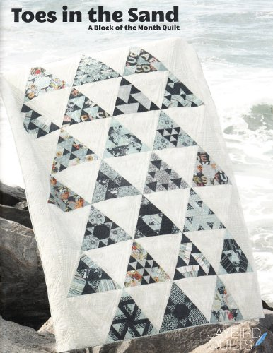 Toes in the Sand: A Quilt Block of the Month Design
