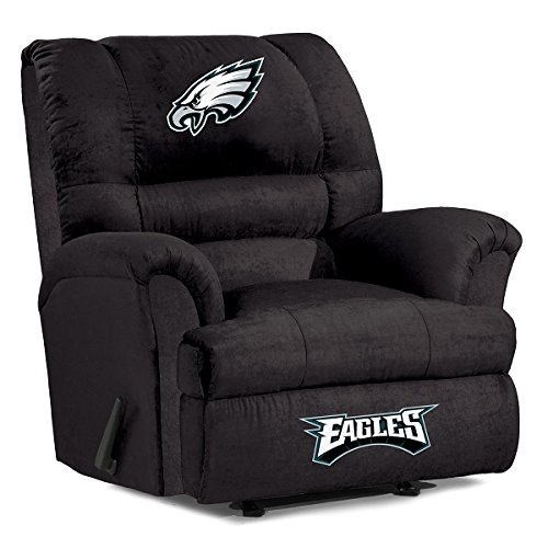 NFL Philadelphia Eagles Big Daddy Microfiber Recliner - 1