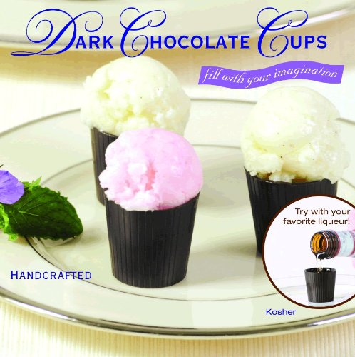 32pc Dark Chocolate Cordial Cups Certified Kosher