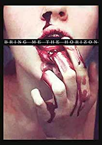 Bring Me the Horizon - Blood Lust - Posterflagge 100% Polyester - 75x110 cm