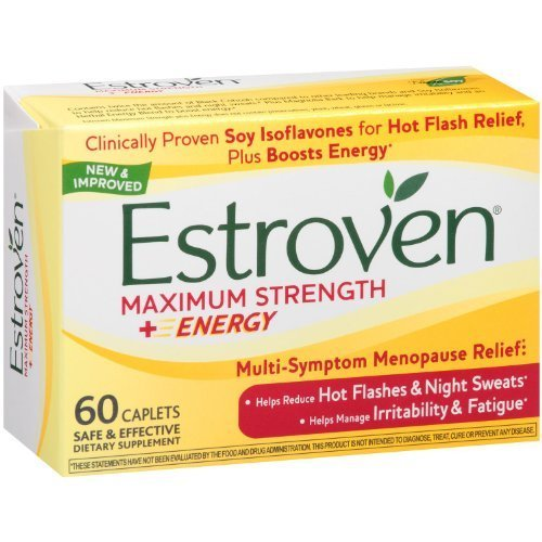 Estroven - Menopause Relief Maximum Strength - 60 Capsules by Estroven midlife madness or menopause