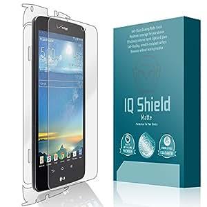 LG G Pad 8.3 LTE Anti-Glare Screen Protector [Verizon][Full Coverage], IQ Shield® Matte - Full Body Skin Replacements - Premium Bubble-Free HD Film with Anti-Fingerprint Coating