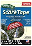 "Gardeneer By Dalen Holographic Scare Tape Reflective Scarecrow Ribbon 3/4"" x 100' (1 Roll)"