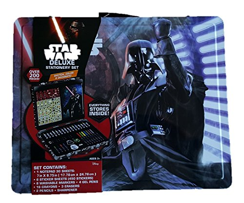 Star Wars Deluxe Stationery Set (Over 200 Pieces)