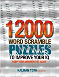 12000 Word Scramble Puzzles to Improve Your IQ