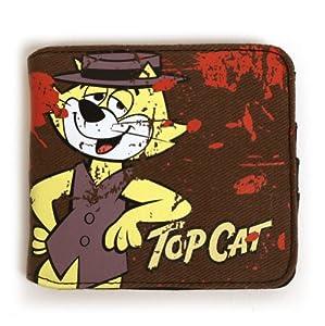Hanna Barbera Top Cat - Top Man design Wallet - Officially Licensed Merchandise