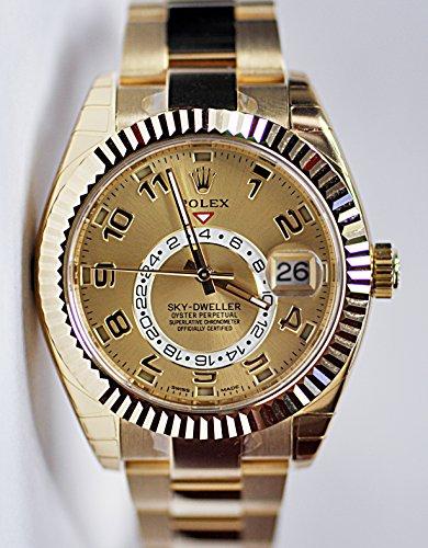 Rolex ROLEX SKY-DWELLER YELLOW GOLD 326938 BOX/PAPERS UNWORN 2014