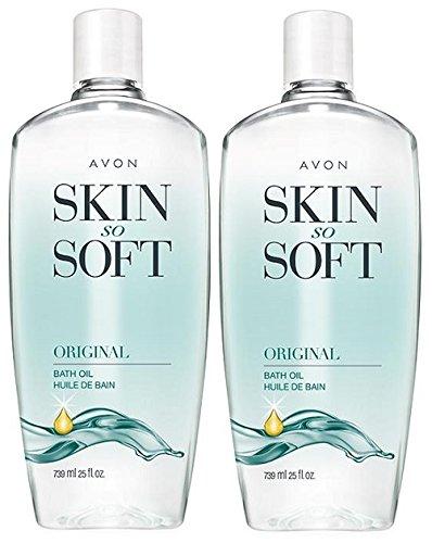 Avon Skin So Soft Original, 24 oz (Pack of 2) (Avon Skin So Soft Bath Oil compare prices)