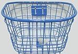 自転車カゴ / 子供/小径用ワイヤー前カゴ 20-24型用 ブルー / ブルー