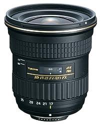 Tokina AT-X 17-35mm F4 Pro FX Zoom Lens for Nikon DSLR Camera