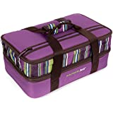 Rachael Ray Expandable Lasagna Lugger, Purple