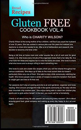 Gluten Free Cookbook: Vol. 4 Bread Recipes
