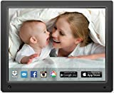 nixplay 12 inch Wi-Fi Cloud Digital Photo Frame. iPhone & Android App - Email - Facebook - Dropbox - Instagram - Picasa - W12A