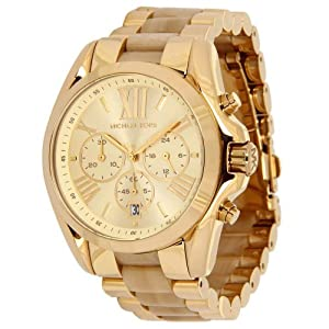 Michael Kors MK5722 WBradshaw Gold and Horn Watch