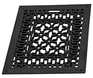 4 X 12 Cast Iron Vent Cover Air Return With Screw Holes