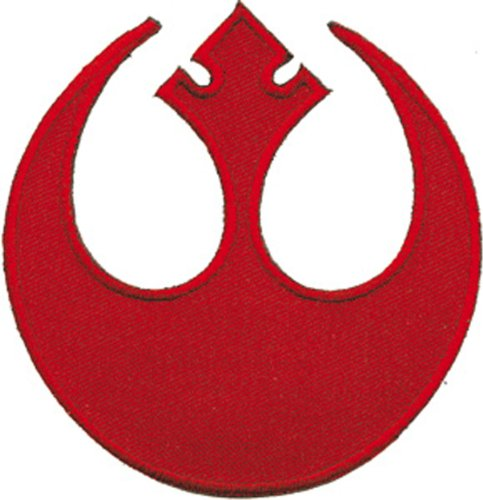 STAR-ESTRELLA-WARS-Rebel-Insignia-PATCH-PARCHE-Iron-On-Sew-On-Disney-Officially-Licensed-Movie-TV-Artwork-3-x-3-EMBROIDERED-BORDADO-Patch