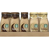 15-Pack Starbucks 9.5 Ounce Glass Bottles Frappuccino (Mocha and Vanilla Flavors)