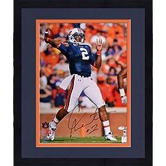 Framed Cam Newton Autographed 16x20 Photo - Auburn Tigers - Newton Holo & JSA SM...
